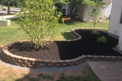 Hardscape Mulch Bed in Piscataway, NJ
